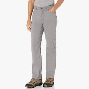 Prana Men's Brion Pants Slim Fit Gray Size 32WX30L
